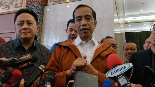 Ditanya Soal Aksi Bela Tauhid, Begini Jawaban Jokowi