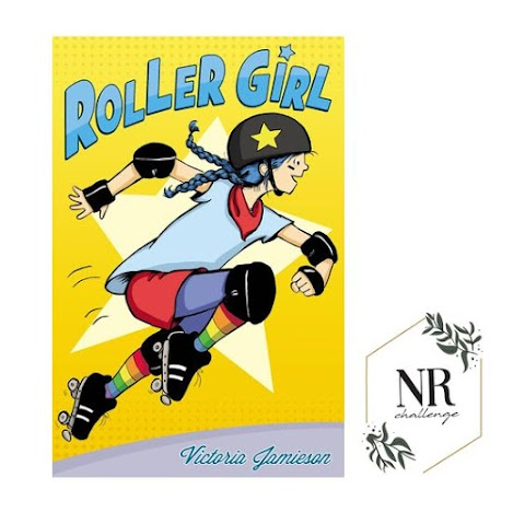 A graphic novel : Roller Girl