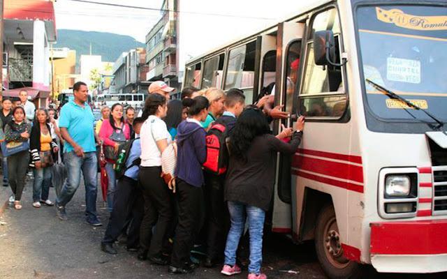 Pasaje mínimo aumenta a 20.000 bolívares en Caracas a partir del 15 de julio - Solo en revolución!
