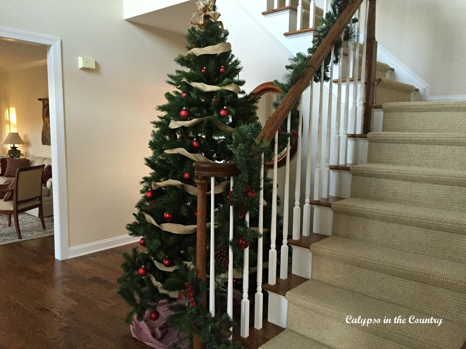 Christmas Tree with Stairs