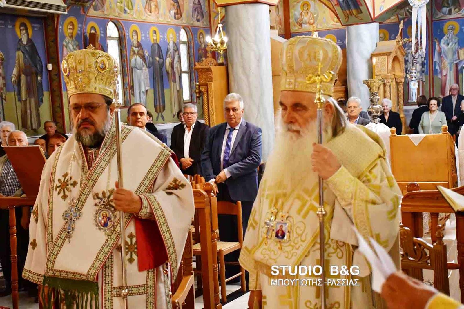Η Νέα Κίος εόρτασε τους Αγίους της
