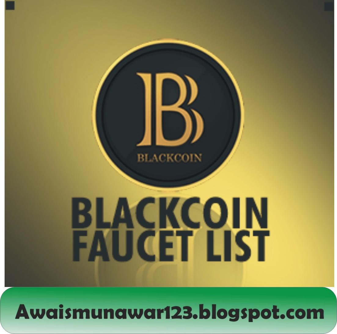 Free Blackcoin Faucet List - AWAIS MUNAWAR