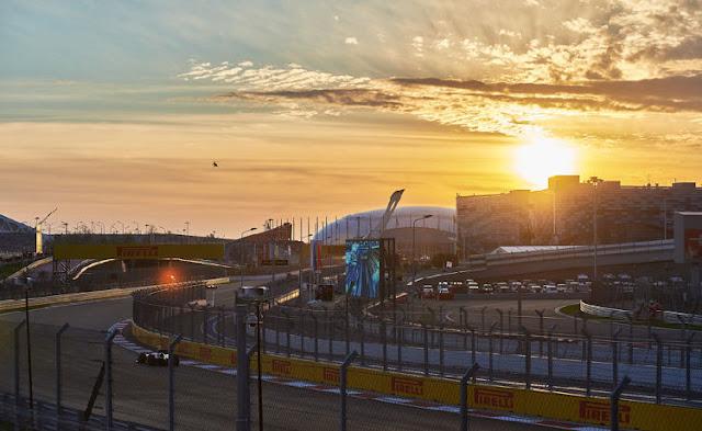 Формула один Сочи октябрь 2015