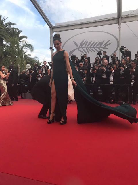 Deepika Padukone At Cannes 2017 Photos Day 2 Stills