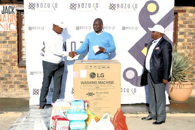Nozuko Nxusani Inc. Management hand over support to Tumelo Home