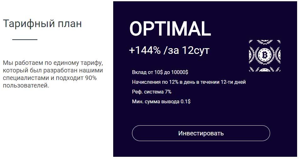 Инвестиционные планы Satisfyin