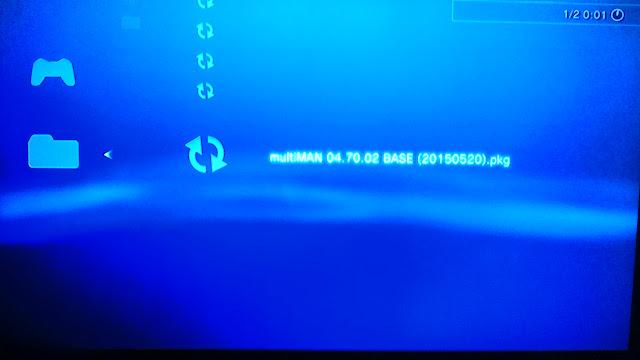 Cara Menghapus Menginstal Multiman Pada PS3 CFW