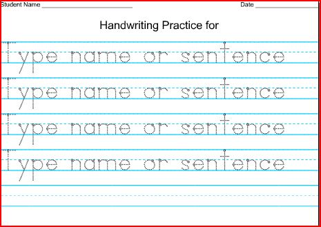 Printables Handwriting Worksheets Com Print the 2nd grade spot love this site httpwww handwritingworksheets comflashprintdotssentenceindex html