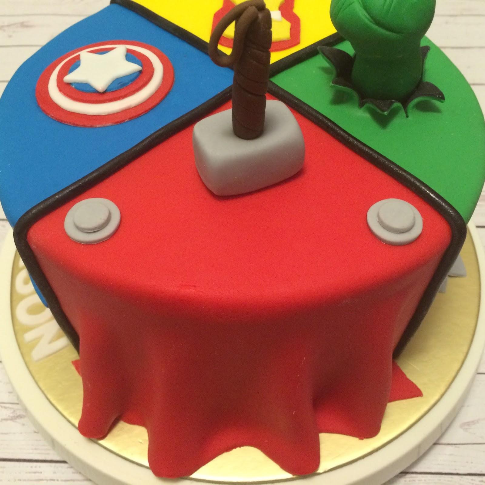 Thor Birthday Cake Ideas