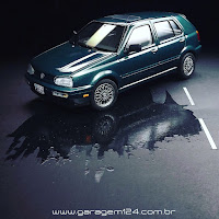 VW Golf Revell 1/24 Plastic Model Kit