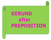 Gerund after Preposition lesson