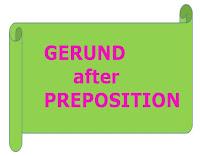 Gerund after Preposition lesson