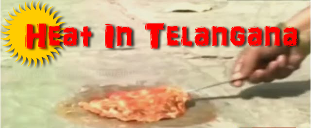 Heat In Telangana Is So Much That A Woman From Karimnagar Made An Omelette On The Ground