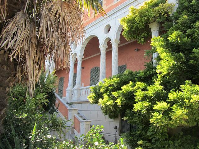 Facciata Anteriore Villa Hanbury
