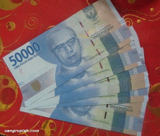 Uang 50 Ribu Rupiah Baru Emisi Tahun 2016