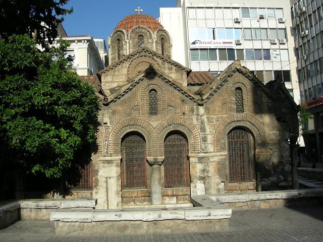 Άγιος Δημήτριος Καλύβια Θορικού Λαγονήσι