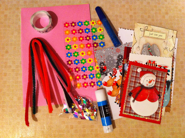 Craft pack for occ shoebox