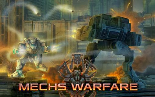 Free Download Mechs Warfare Android Game 4.0