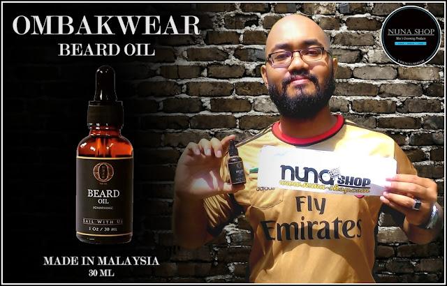 Ombak Beard Oil Minyak Penumbuh Pelebat Kumis Jenggot Jambang Brewok