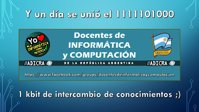 https://www.facebook.com/groups/docentesdeinformaticaycomputacion
