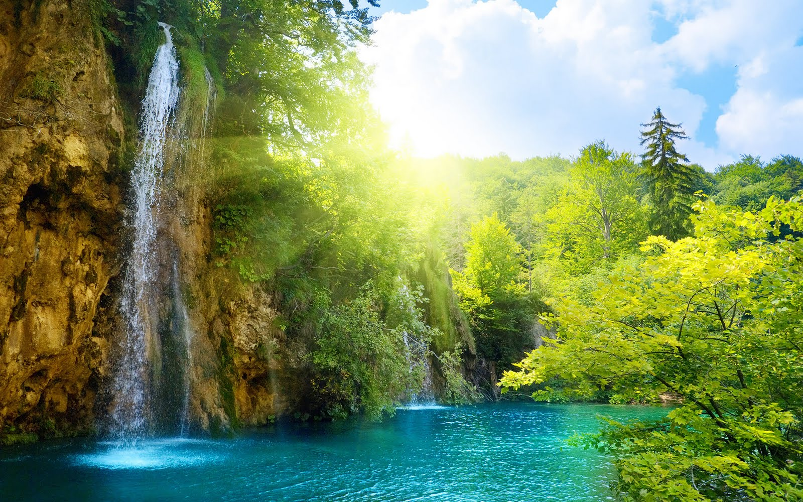 beauty spring nature around amazing desktop natural wallpapers awesome summer waterfall healing gorgeous most joy