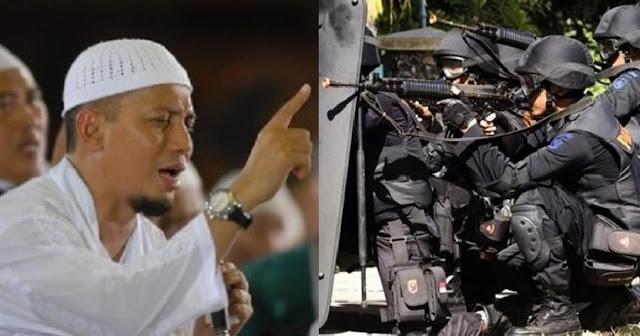 Ini Surat Terbuka Ustadz Arifin Ilham untuk Densus 88 yang Beragama Islam