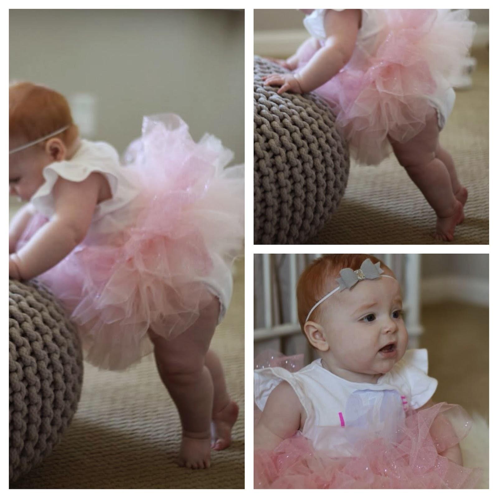 e20edcfe1278 Harper Reese- 7 Months Old! - Veronika's Blushing