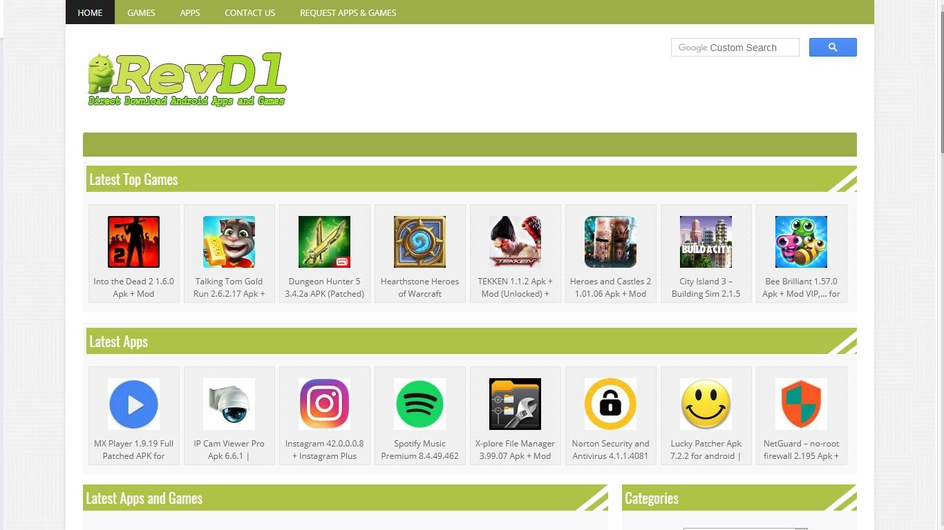 TOP 5 Tempat Download Mobile Games Mod Gratis