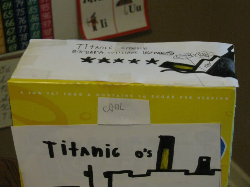 Nice Sample Cereal Box Book Report Template Elaboration