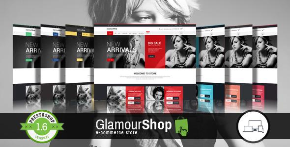 GlamourShop – Responsive Prestashop 1.6 Theme + Blog