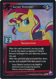 My Little Pony Sunset Shimmer Canterlot Nights CCG Card