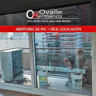 Fácil instalación de Aberturas de PVC