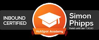 Inbound Marketing HubSpot Academy Badge