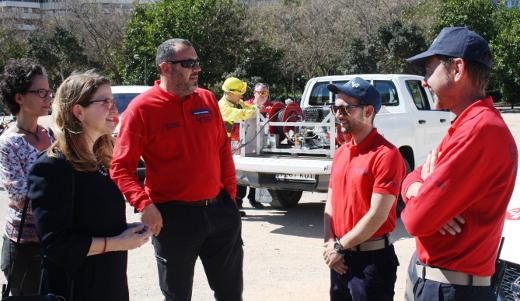 Cebrián: 'El Consell ha reforzado la prevención de incendios apoyada en una gestión forestal activa y planificada'