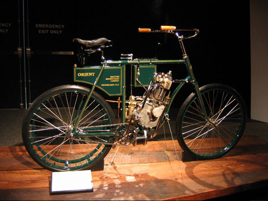 Motorcycle Indian Excelsior