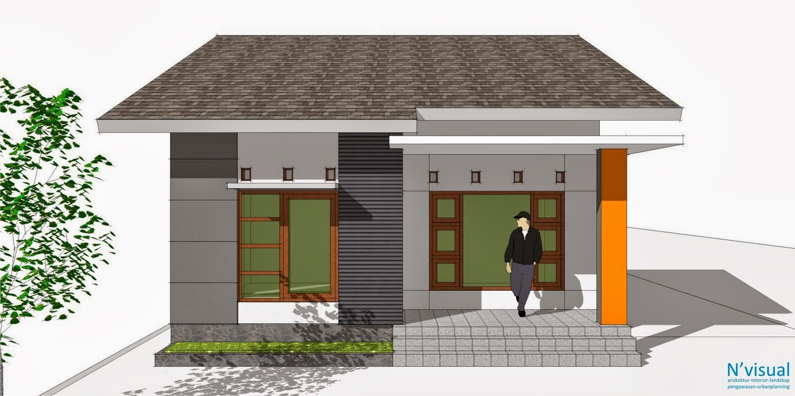60 Desain Rumah Minimalis Kotak | Desain Rumah Minimalis ...
