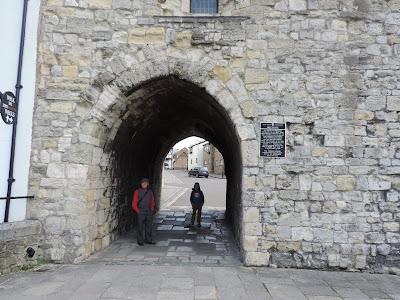 historic town walls southampton