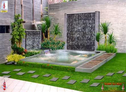 ide desain taman rumah minimalis terbaik