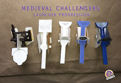 Medieval Challengers Lancher Progression by ITD Games