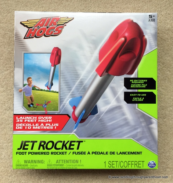 Air Hogs Foot Powered Jet Rocket Review