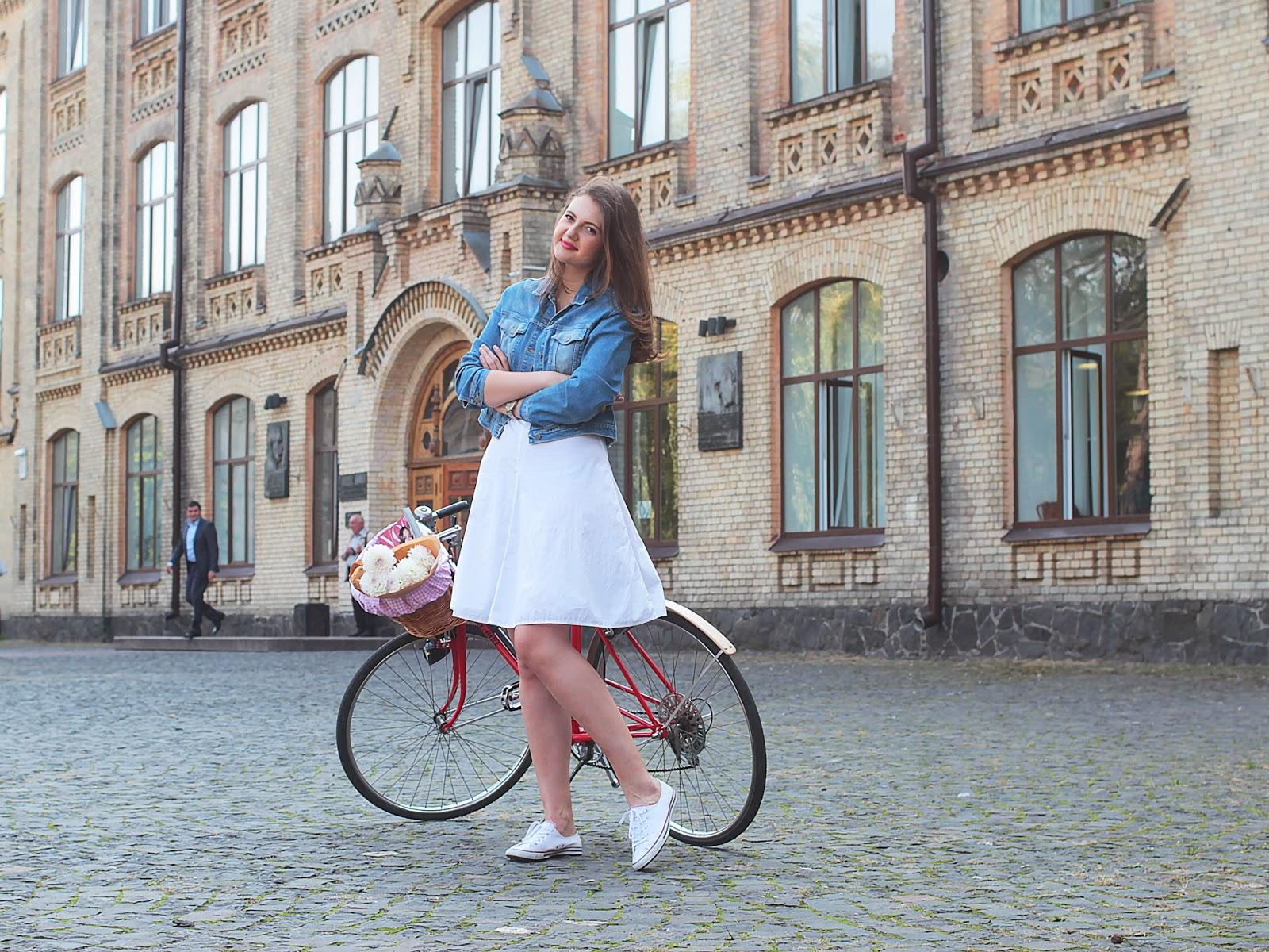 Корзинка для велосипеда купить киев, милая корзинка на велосипед, Bike me велоакссесуары, КПИ