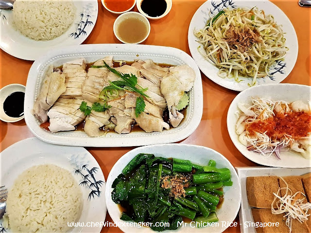 MR CHICKEN RICE – Singapore, vindex tengker