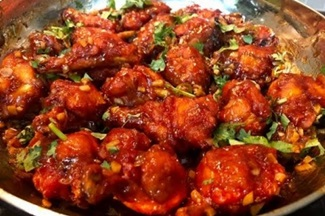 Sweet & Spicy Chicken Lollipop