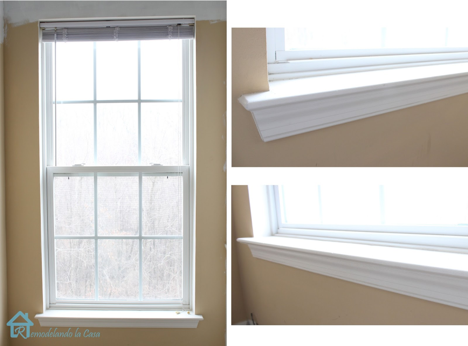 How To Install Window Trim Remodelando La Casa