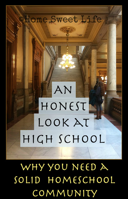 An Honest Look at High School, Homeschooling High School, 5 Day Homeschool Blog hop