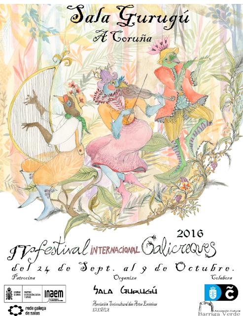 IV Festival Internacional Galicreques, Festival Galicreques A Coruña 2016, coruña, títeres, ocio niños