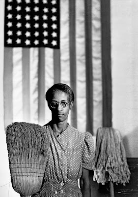 Gordon Parks's photograph 'American Gothic' afforded rare attention to a black female subject who was not a celebrity or entertainer, but a mother and a worker.