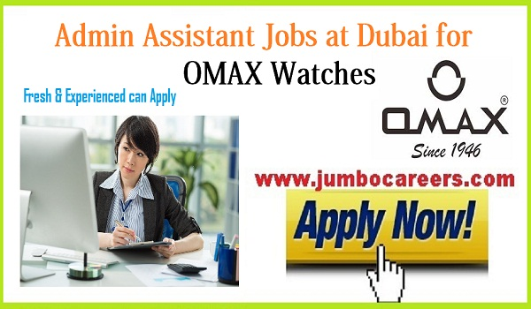 Current jobs in Dubai for Fresh and experienced candidates,UAE jobs for freshers,