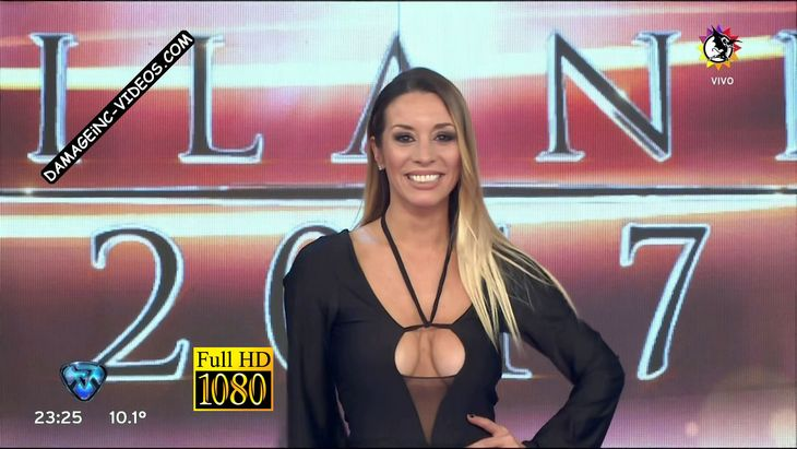 Barby Reali horny cleavage in a black catsuit Damageinc Videos HD