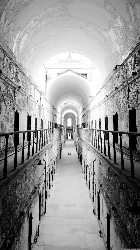 Old Prison Interior  Galaxy Note HD Wallpaper